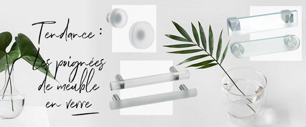 Poignées de meuble verre I Love Details