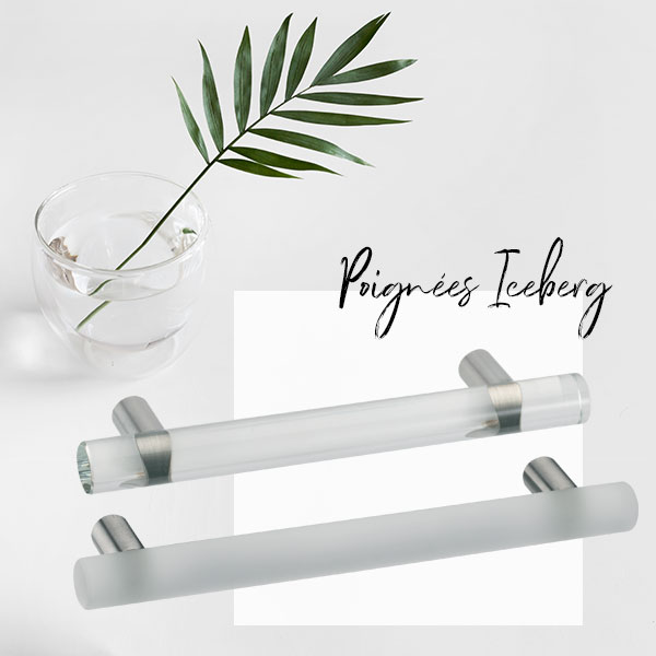 Poignée de meuble verre ICEBERG I Love Details