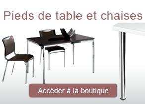 boutique pied de table