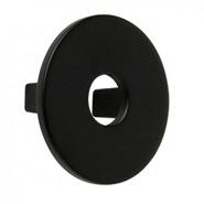 Bouton de meuble noir forme disque sur I Love Details