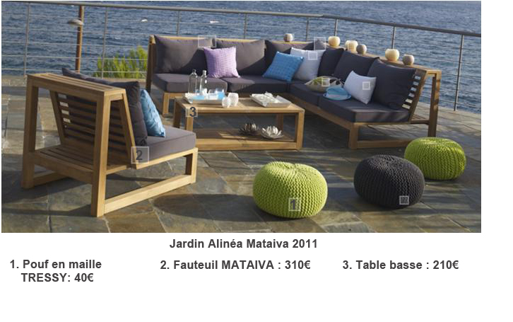 salon de jardin alin a 2013. Black Bedroom Furniture Sets. Home Design Ideas