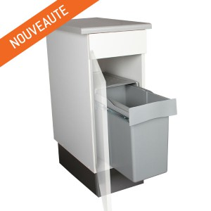 Trouver la poubelle de cuisine adapt e son meuble sous - Poubelle sous evier coulissante ikea ...
